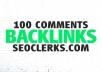 Create 100 Blog/Image/Other Comments Backlinks