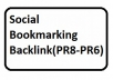 Boost Ranking-15 PR8 to PR6 Social Bookmarking Backlink For Website