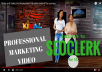 PROFESSIONAL marketing video to make company look worth millions