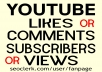 YOUTUBE VIDEO PROMOTION NON DROP AND STABLE GUARANTEED