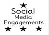 Instant Fast 1000 Post Likes  On Social Media