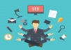 on page SEO and off page SEO for your website