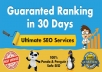 Advanced SEO Services for Page 1 Rankings in 30 Days