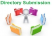 Manually sumbit your site to 150+ directory submision sites