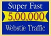 Drive Real 5,00,000 Website Traffic From Social Media For 30 Days