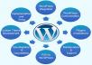"Create WordPress Theme, Blog, Web Design ""Small"""