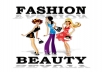 promote any Fashion or Beauty product