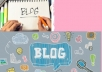 Content Writing for Blogs