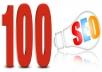 Create 100 High authority backlink for SEO