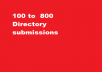 110 directory submissions