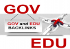Build 20 .edu-.gov backlinks excellent website and youtube seo