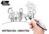 professional whiteboard animation service
