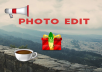 2 photo edit very fast complete