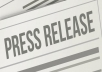 I Submit your Press Release to 20 Best Press Release Directories