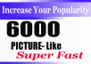 fast instant start 6000+ Social Pictures Promotion Instantly start and Real
