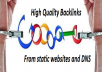 100 Plus Dofollow Links From Highest Authority Website to Your Blog