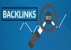 provide 100+ High quality backlinks from unique Domains