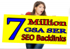 Provide 200K GSA Ser High Authority BackLinks for your SIte