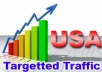 Provide You 1500 USA Country Targeted Traffic