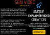 SEM Video - Unique Explainer Video Creation & Submission That Will Bring You Traffic For Life