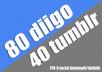 Pr9 80 diigo 40 tumblr Social Bookmark with Provide Backlnik