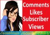 YouTube Promotion Package All In One Service Instantly Start