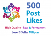 Start Instant 500 High Quality Social Photos Posts Promotion