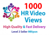 Add Instant 1000 High Retention Social Video Views Promotion