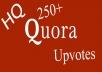 300+ HQ worldwide quora upvotes