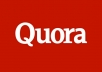 Promote website With High Quality Quora answer backlinks