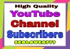 YouTube Promotion & Marketing via real users real & non drop guaranteed only