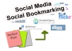 Manually Submit Your LINK/URL To 40 Social Bookmarking Sites