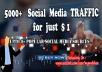 5000+ AdSense Safe Social Media TRAFFIC