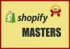 Design,Customize, Set Up Your Shopify Website