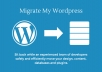 Migrate a WordPress site to a new server