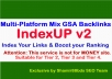 IndexUP v2 - 15,000 Multi-Platform Mix GSA Backlinks for indexing well