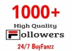 Add Fast 1000+ Profile Followers