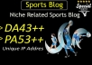 make guest post in DA43 sports blog