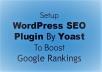 install last Version & premium Yoast wordpress Seo plugin & Onpage SEO optimzation for $5
