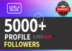 Add 5000+ High Quality Fast Profile Followers