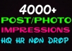 Deliver 4000+HQ, Non Drop video impressions instantly