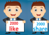 4,000 Social Signals Come From Top 1 Social Media Sites