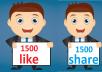 3,000 Social Signals Come From Top 1 Social Media Sites