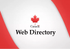 Do 45 Canadian Domain Authority Directory Submissions