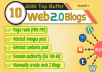 10 Web2 Blog Properties, Contextual Backlinks