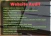 Do advance SEO Audit with Semrush
