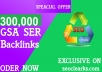 Build High Quality  400000 Gsa Ser Backlinks For Higher Ranking