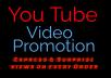 Adding 500,000+ High Quality YouTube PROMOTION