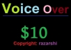 Voice-over Project Exclusively on Seoclerks