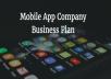 Mobile App Business Plan